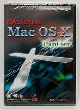 Mastering Mac OS X Panther CD-ROM step-by-step training lessons NEW BDG new