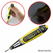 12~250V LCD AC/DC Voltage Digital Detector Tester Non-Contact Electric Test Pen