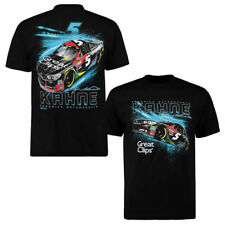 Checkered Flag Kasey Kahne Black Great Clips Grandstand T-Shirt