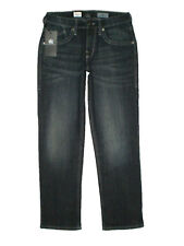 Rock & Republic Ultra Comfort Straight Leg Mens Blue Denim Midnight Jeans New