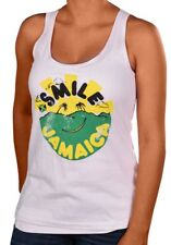 Billabong Juniors Bob Marley Smile Jamaica Tank Top-White
