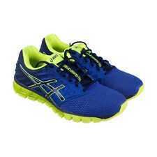 Asics Gel Quantum 180 2 Mens Blue Mesh Athletic Lace Up Running Shoes