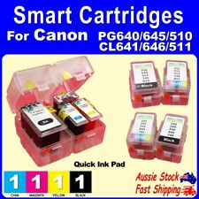 Smart Cartridge Pads for Canon PG645XL PG645 CL646XL CL646 PG510 CL511 PG512 ink