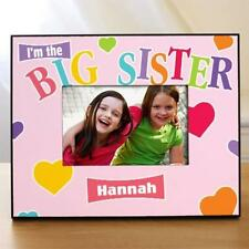Personalized Big Sister Picture Frame Stars Sisters Photo Frame Little Sister