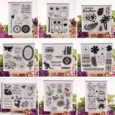 Transparent Clear Silicone Stamp Seal