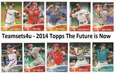 2014 Topps The Future is Now Baseball Set ** Pick Your Team **