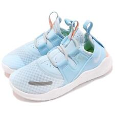 Nike Free RN CMTR 2018 PS White Blue Preschool Boy Girl Running Shoes AH3462-400
