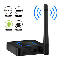 MiraScreen Wireless WiFi 1080P HD TV Stick Display Dongle HDMI TV RCA Receiver