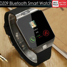 LATEST DZ09 Bluetooth Smart Watch Camera SIM Slot For HTC Samsung Android Phones