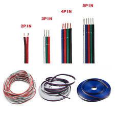 1-100m 2/3/4/5-Pin 22AWG Extension Connector Wire Cable For 3528/5050 LED Strip
