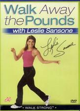 DVD:  WALK AWAY THE POUNDS WITH LESLIE SANSONE WALK STRONG