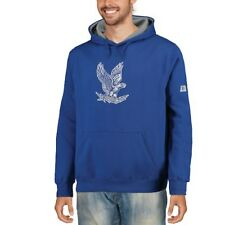 Stadium Athletic Air Force Falcons Royal Big Logo Pullover Hoodie -