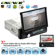7 HD Bluetooth Touch Screen Car Stereo Radio Player