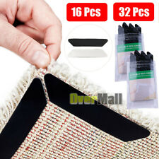 Lots Rug Gripper Pads Anti Curling Non Slip Carpet Anchors Super Sticky Holders