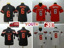 2019 Cleveland Browns #6 Baker Mayfield Youth Stitched Jersey Free Shipping