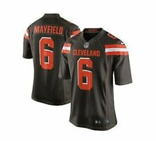 Baker Mayfield #6 Cleveland Browns Men's Jersey Authentic Stitched Size S-3XL
