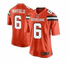 Baker Mayfield #6 Cleveland Browns Men's Jersey Authentic stitched Color Orange