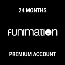 FUNIMATION PREMIUM SUBSCRIPTION / 24 MONTHS / INSTANT DELIVERY / WORLDWIDE