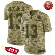 Odell Beckham Jr. #13 Cleveland Browns Camo Men's Jersey stitched Free Shipping