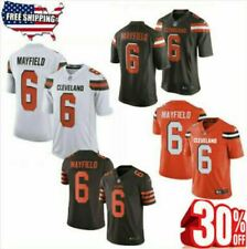 Baker Mayfield Color Rush Jersey Stitched 6 Cleveland Browns Dawg Pound 30%offre