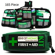 165 Pieces First Aid Kit Medical Emergency Outdoor Travel Survival Camping Home