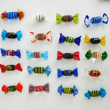 New 12pcs Vintage Murano Glass Sweets Wedding Party Candy Christmas Decorations