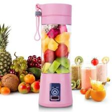 Portable Personal Blender Juicer Mix 6 blades 380ml USB Rechargeable Jet Squeeze