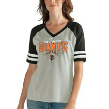G-III 4Her by Carl Banks San Francisco Giants Women's Heathered Gray/Black Goal