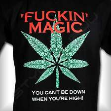 Fucking Magic Marihuana Gras Weed Ganja T-Shirt Glow