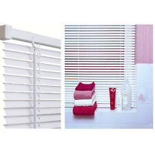 venetian blind white pvc (available in 10 widths)
