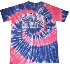 New England Patriots NFL Licensed Mens Tie Die Tee Shirt Big & Tall Sizes