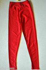 BAL TOGS CHILD size sizes  Red Nylon-lycra costume dance performance  leggings