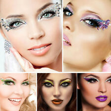 Xotic Eyes Costume Gem Sequin Reusable Self Adhesive Crystals Eye Makeup Strips