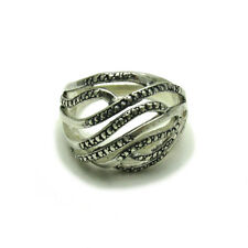 STYLISH STERLING SILVER RING SOLID 925 NEW SIZE J - V