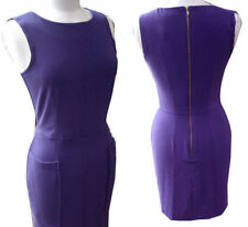 Gorgeous Purple Audrey Hepburn Style Shift Dress