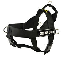 No Pull Harness with Patches DOG ON DUTY