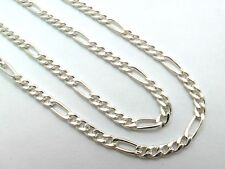 "Taxco Mexico 925 Sterling Silver Figaro Chain Necklaces. Various Lengths 16""-28"""