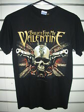 Music Tee BULLET FOR MY VALENTINE - SKULL & GUNS