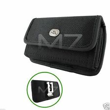 HEAVY DUTY EXPLORER RUGGED POUCH CASE for HTC PHONE COVER with METAL BELT CLIP