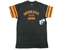 OREGON STATE BEAVERS YOUTH BLACK FOOTBALL JERSEY STYLE T-SHIRT NWT