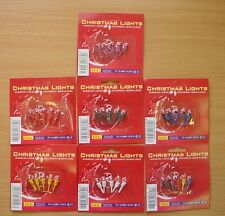 5 Push In Spare Bulbs for Micro Lights 7v 0.49w 0.07a 7 Colours Available