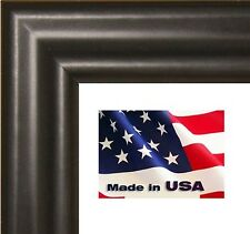 12x36 poster frame picture frame - Solid Wood Thin Black wood