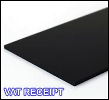 1000mm x 500mm BLACK ACRYLIC SHEET 3MM 5MM PERSPEX SHEET