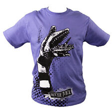 Beetlejuice - Sand Worm Purple Male T-Shirt