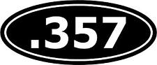 ".357 Ammo Decal 12""x5"" choose color!  vinyl sticker"