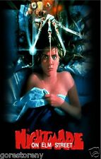A NIGHTMARE ON ELM STREET Movie Poster Horror Freddy Kruger