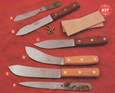 Green River Knife Making Kits,Dadley,Hunter,Skinner,Butcher,Ripper,Patch