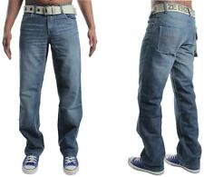 MENS ENZO EZ15 BRANDED JEANS REDUCED BARGAIN PRICE 28 TO 48  FREE BELT