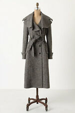 Anthropologie Enduring Tweed Overcoat Org.$298.00 NWT! (FL)