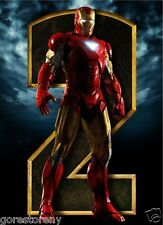 IRON MAN 2 Movie Poster Comic Book Tony Stark